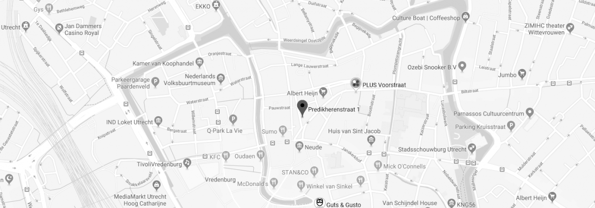 Magic Piercing Studio adres Predikherenstraat 1 te Utrecht